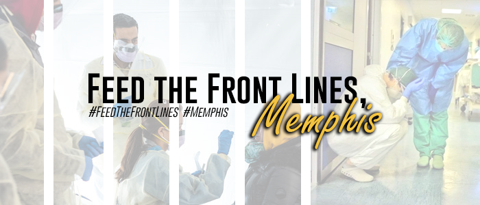 Feed the Front Lines, Memphis banner